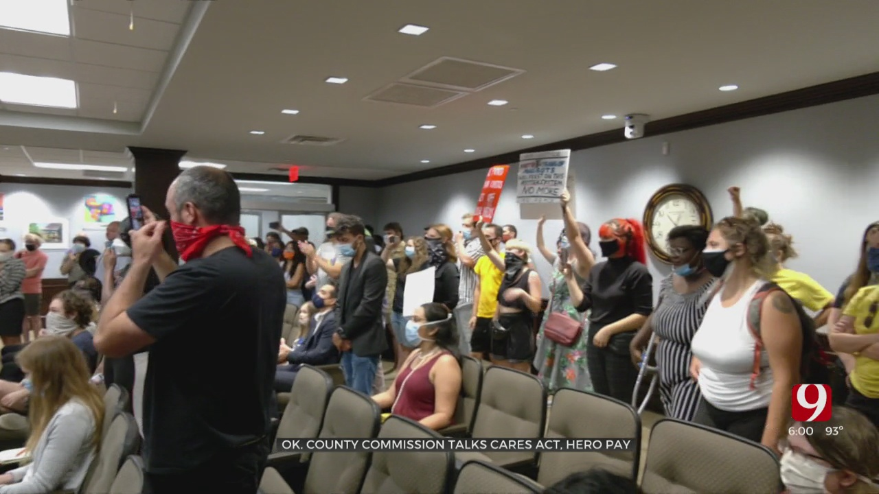 Okla. Co. Commissioners Pull Back On Protest Restriction Proposal
