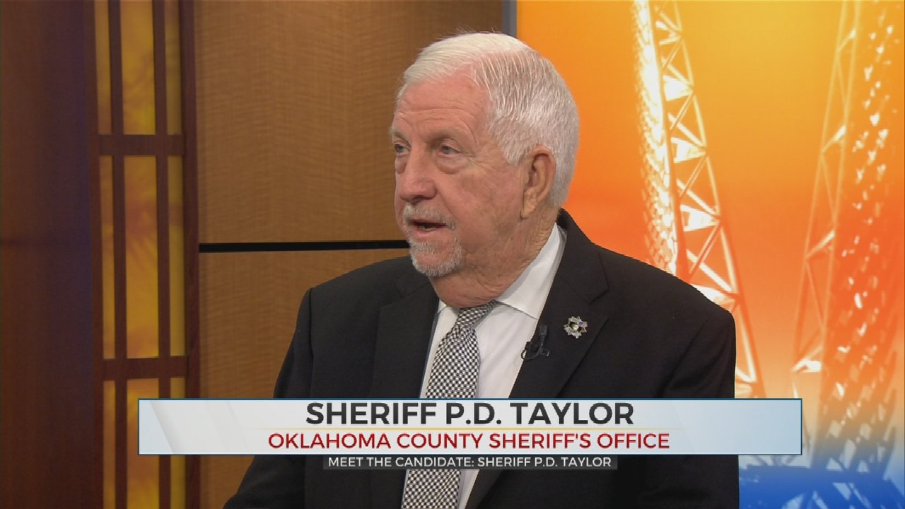 Oklahoma Sheriff Candidate P.D. Taylor On Continuing Hard Work, Bringing Community Together