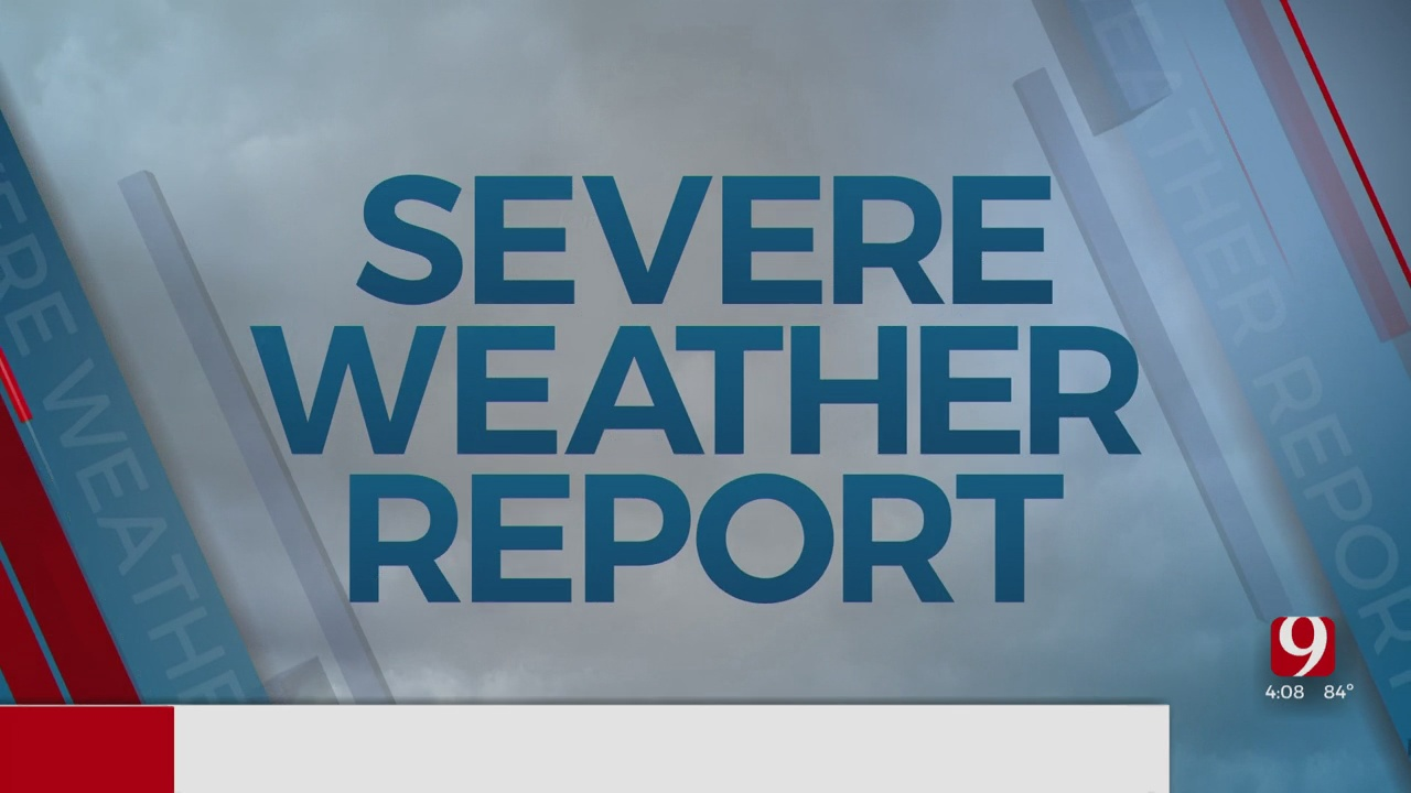News 9 Severe Weather Report (4:08 p.m.)