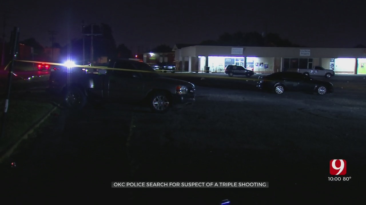 Three Hospitalized After Shooting In SW OKC