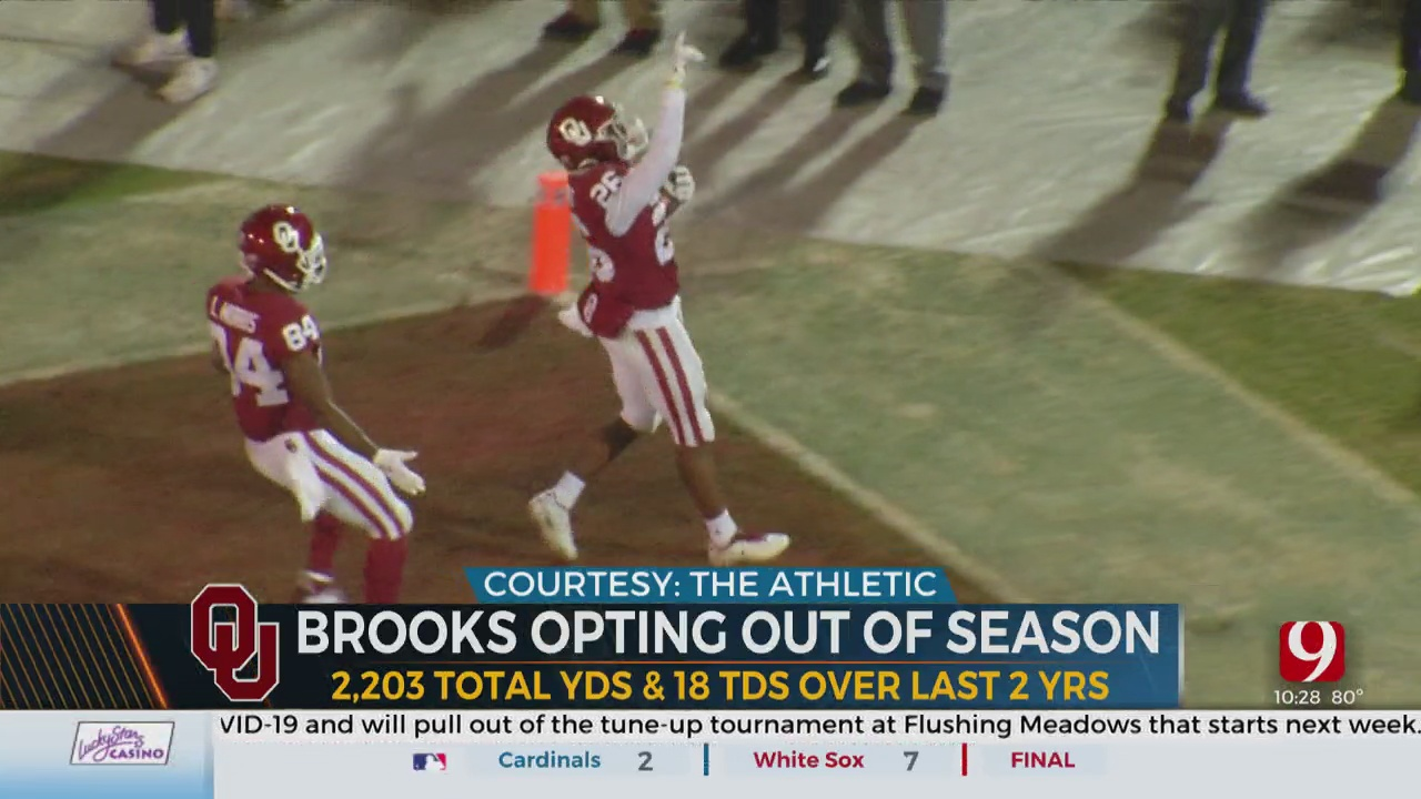 OU Running Back Kennedy Brooks Opts Out Of Season