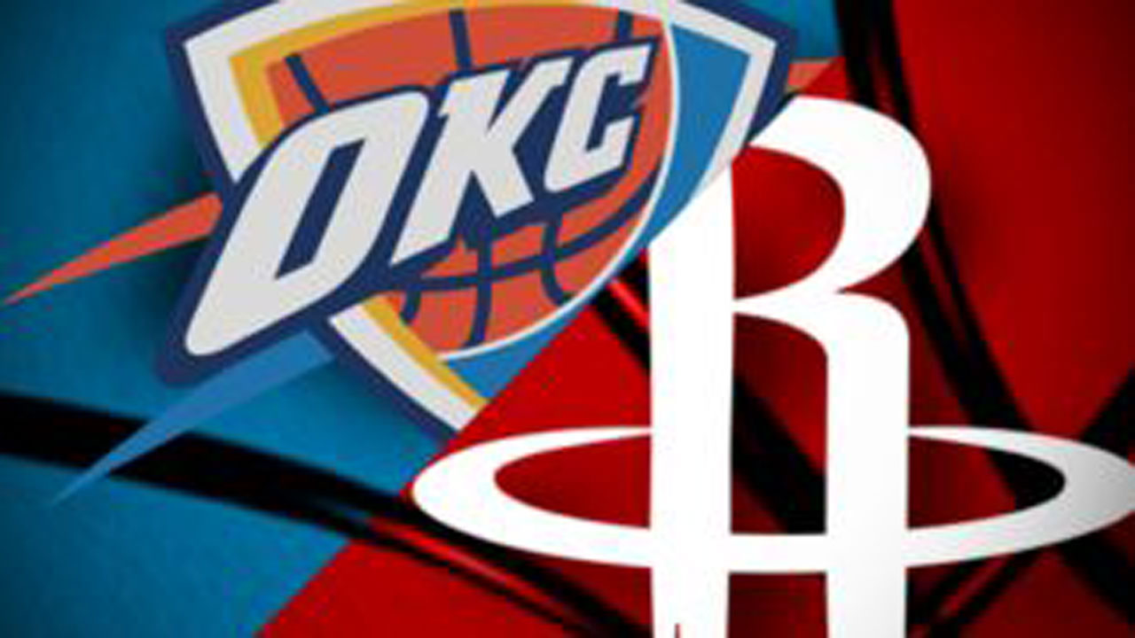 OKC Thunder To Take On Houston In First Playoff Game