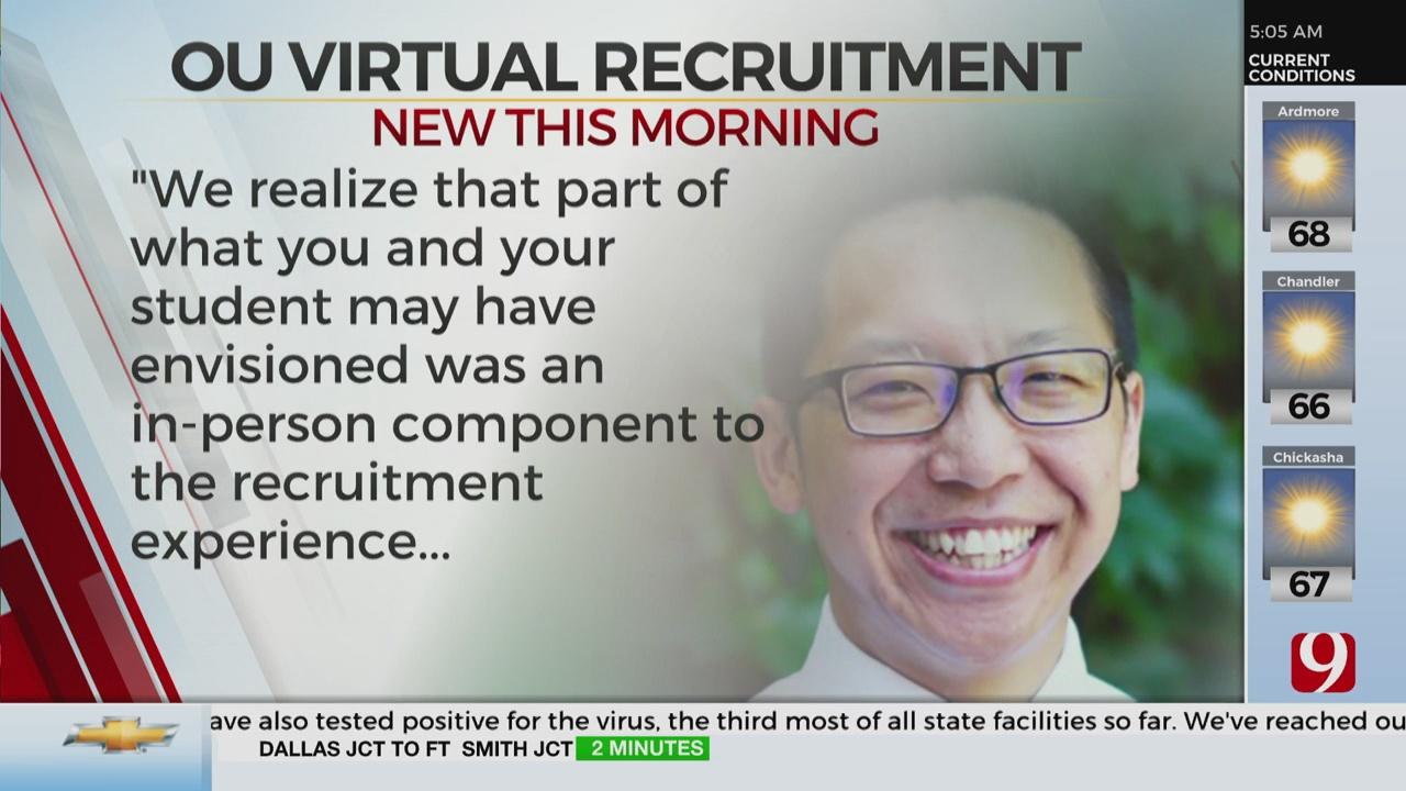 OU To Go Virtual For Fall Panhellenic Recruitment