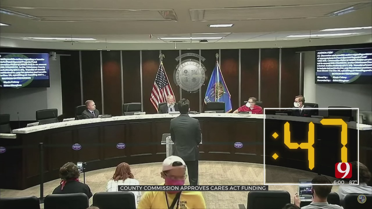 County Commission Votes In 47 Seconds To Transfer Millions In CARES Act Funds To Jail