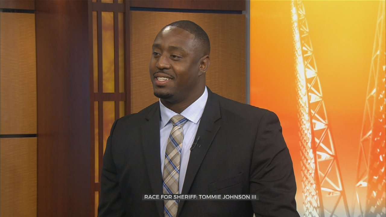 Oklahoma County Sheriff Candidate Tommie Johnson III On Changes, Experience, & First Act