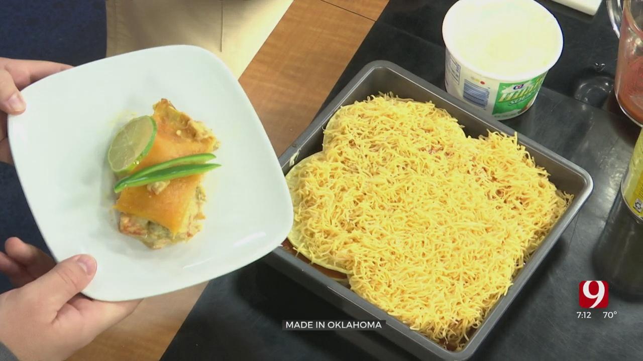 Made In Oklahoma: Chicken Cheese Enchilada Casserole