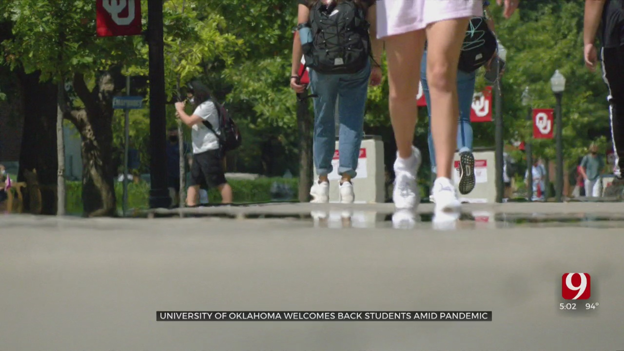 University Of Oklahoma Welcomes Back Students Amid Pandemic