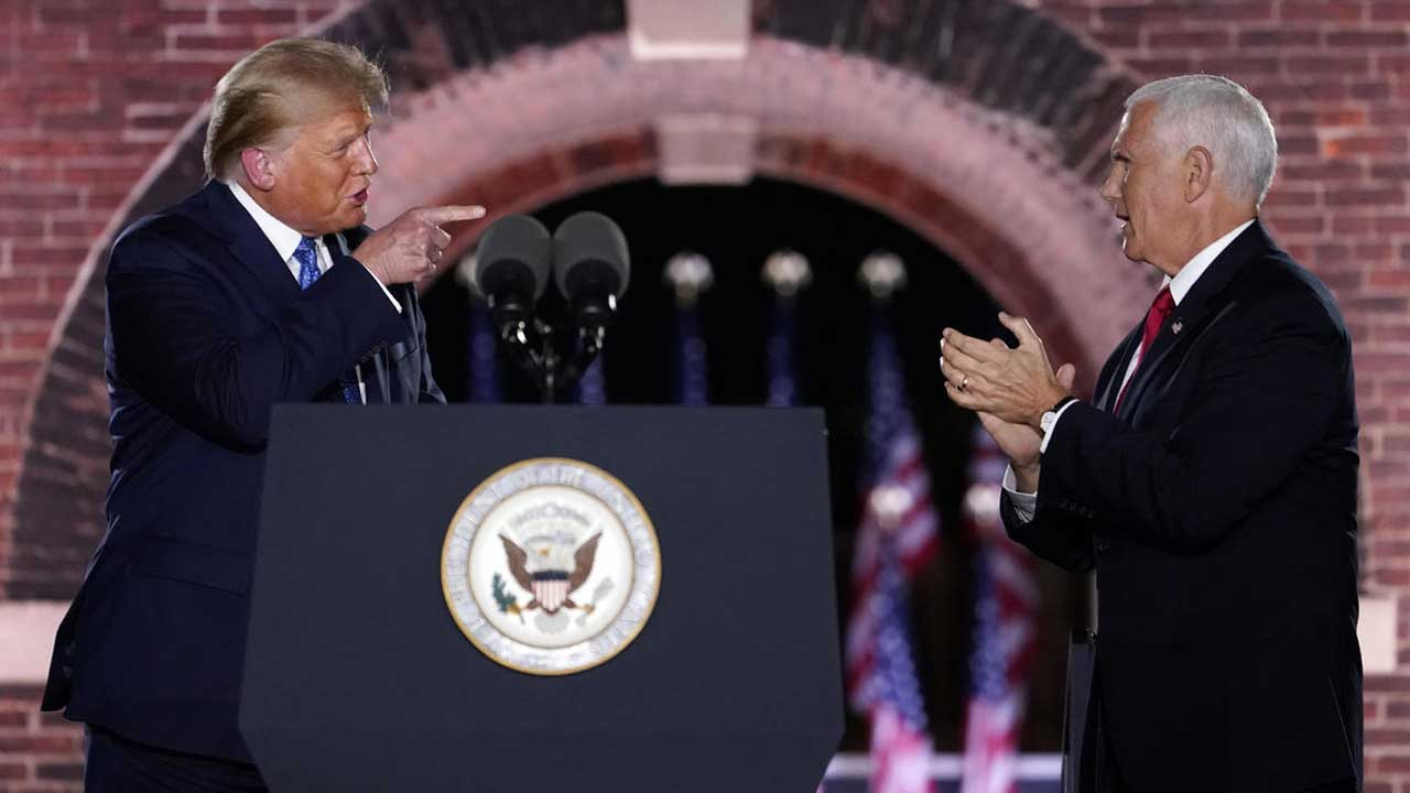 VP Pence Hits Biden, Makes Case For President Trump On 3rd Night Of RNC