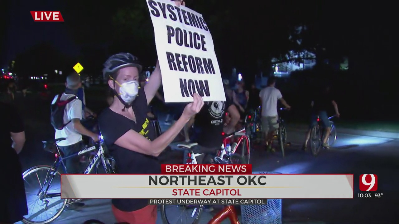 OKC Protesters March On Anniversary Of March On Washington