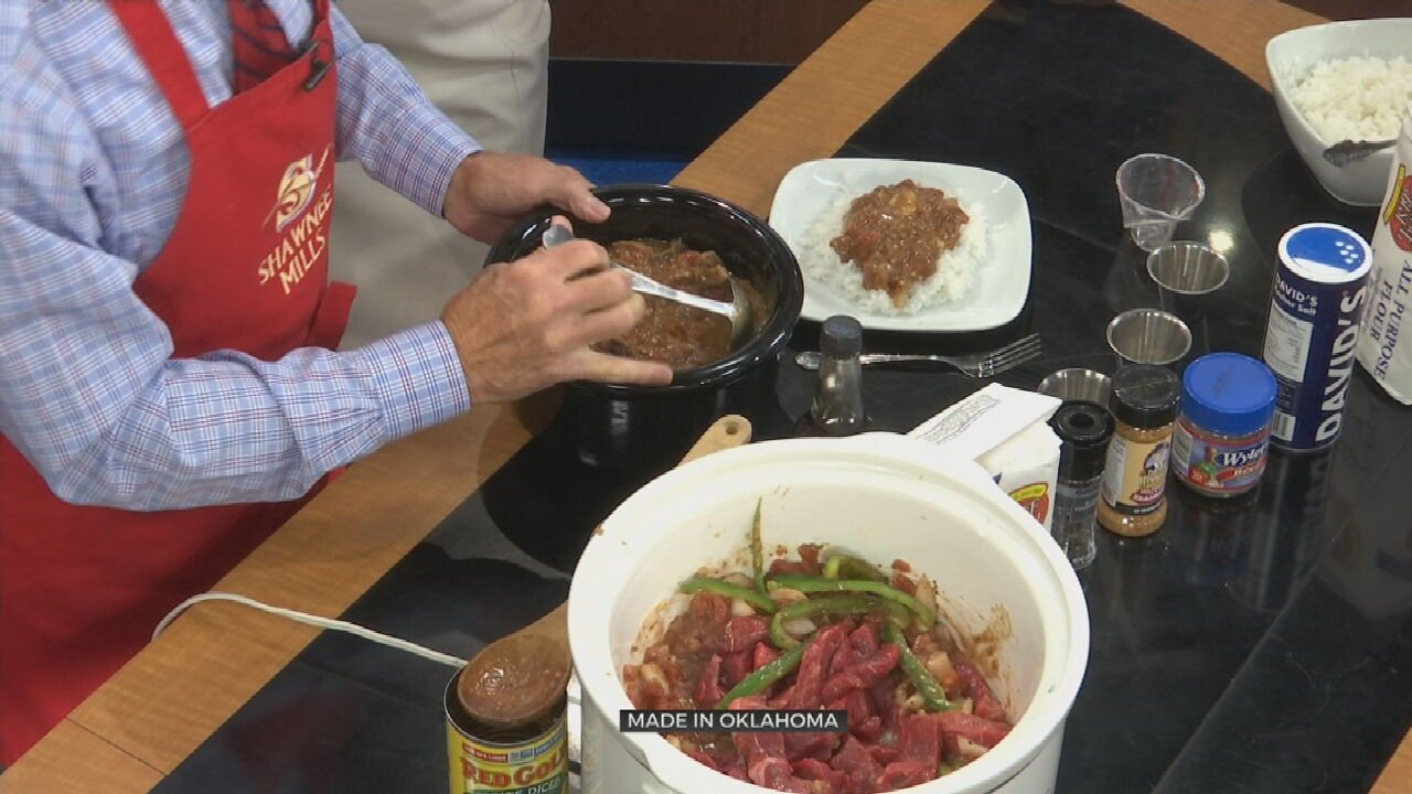 Made In Oklahoma: Pepper Steak On Rice