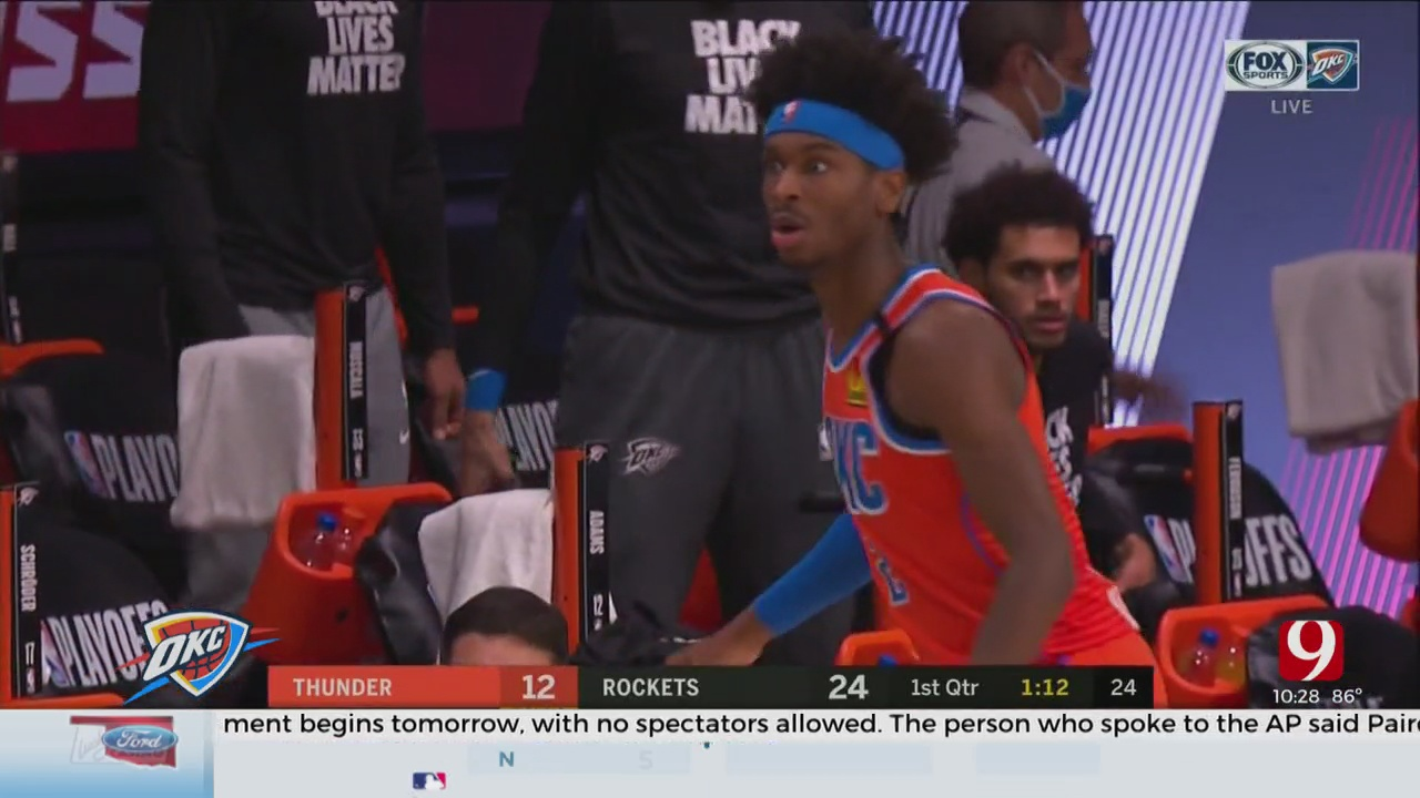 Thunder Looking To Dust Themselves Off In Game 6