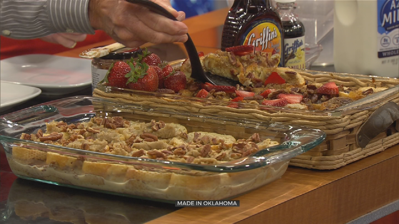 Made In Oklahoma: Baked Strawberry French Toast