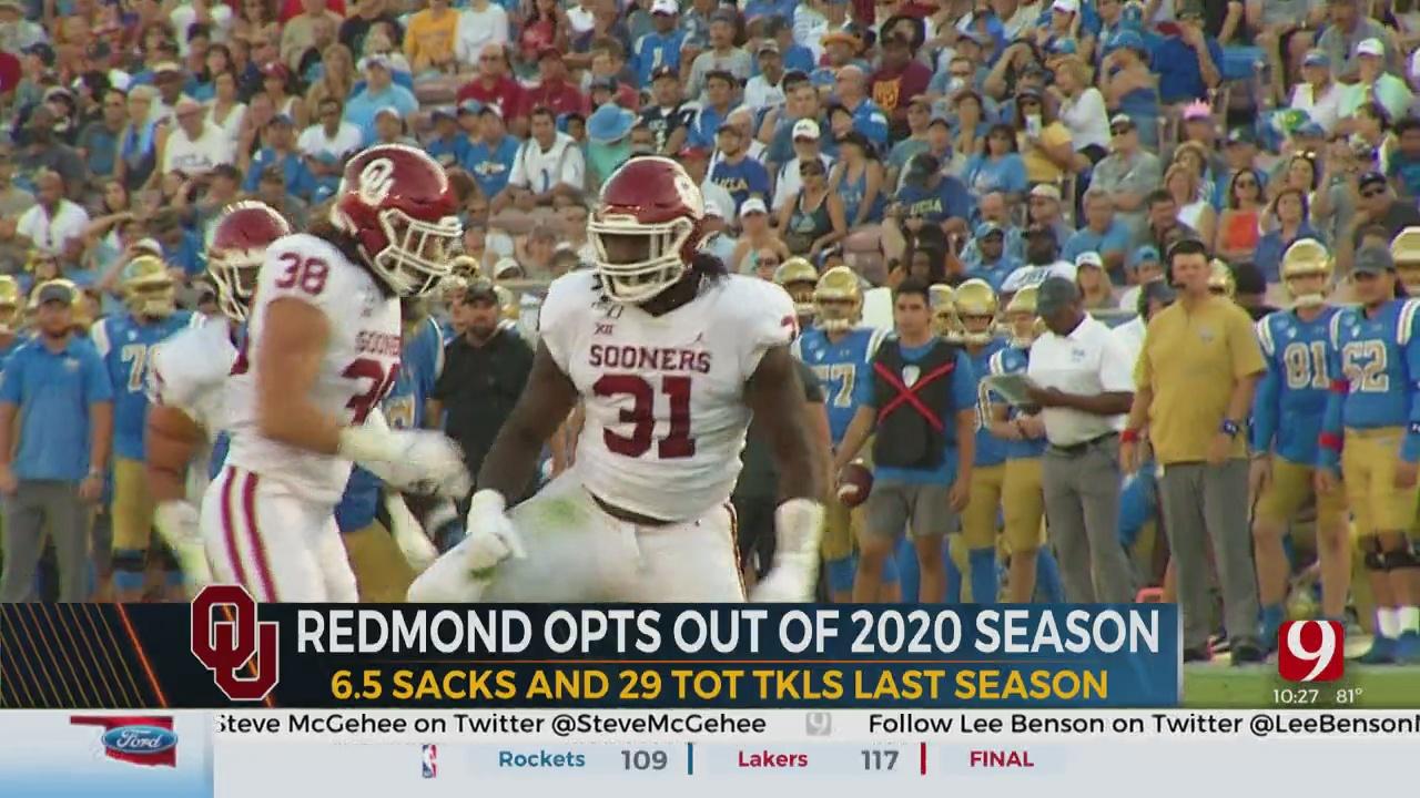 OU's Jalen Redmond Opts Out Of The 2020 Season – Dean And Dusty Dvoracek React