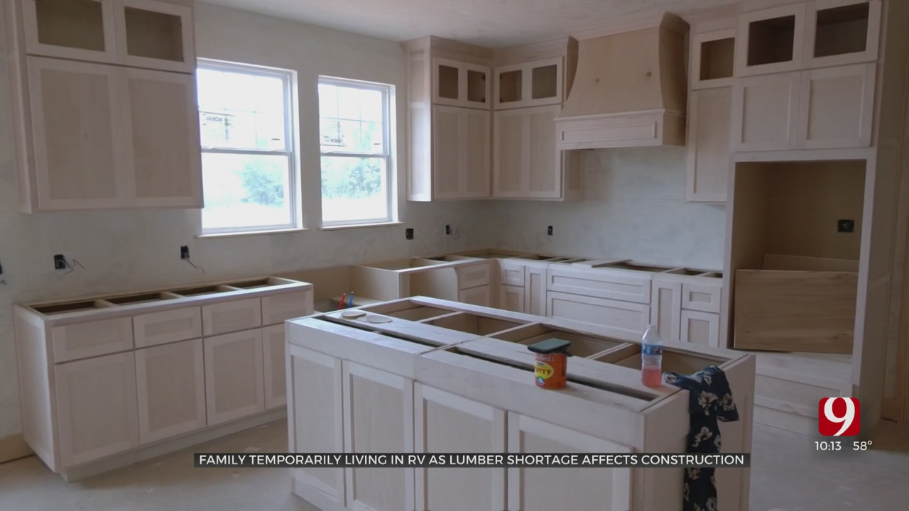 Local Home Builders Experience Lumber Shortage