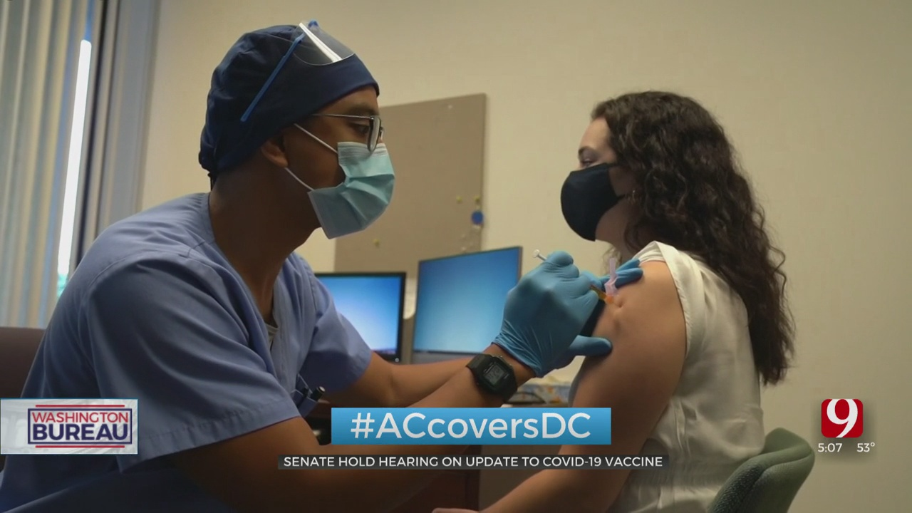 US Senate Holds Hearing On COVID-19 Vaccine Development