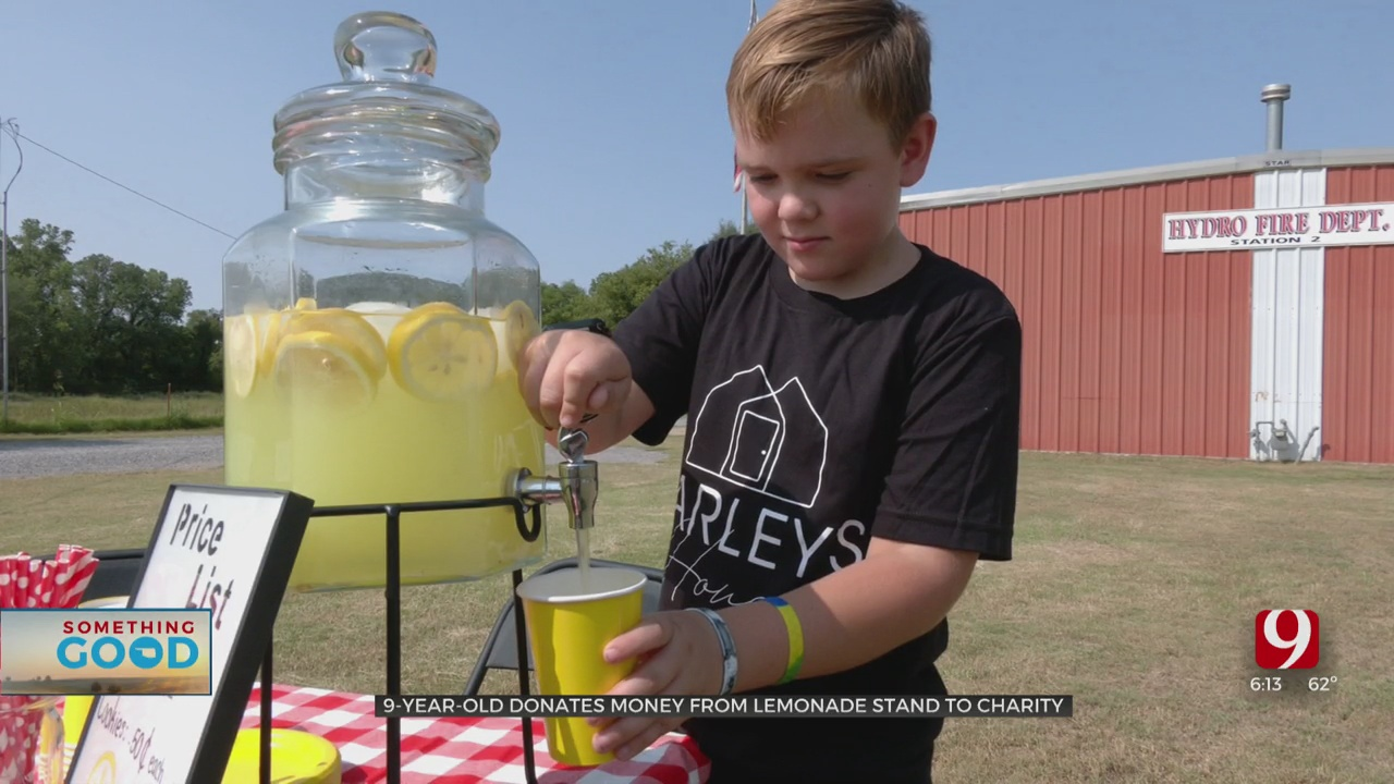 9 Year-Old's Lemonade Stand Fills Need In Community