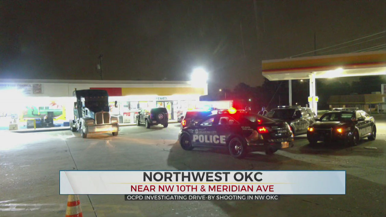 Police Search For Suspect In NW OKC Overnight Drive-By Shooting