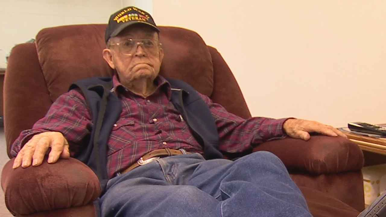 100-Year-Old WWII Veteran Shares Lessons In Hard Work & Love