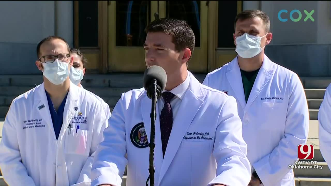 WATCH: President Trump's Medical Team Pleased With Progress