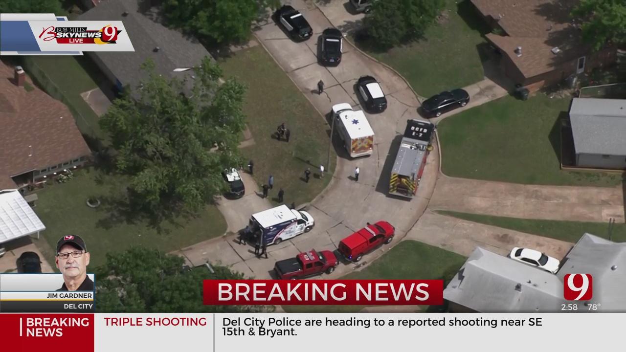 3 Injured In Shooting In Del City, Police Say