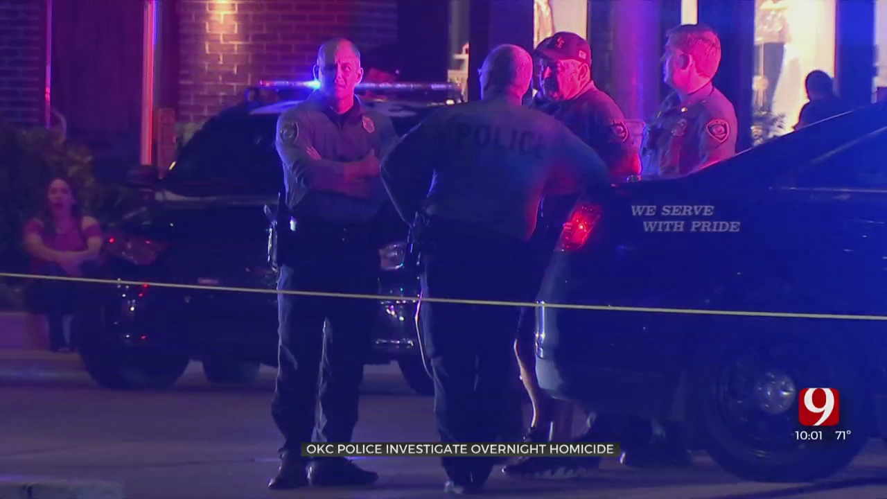 Shooting In Bricktown Leaves 1 Person Dead