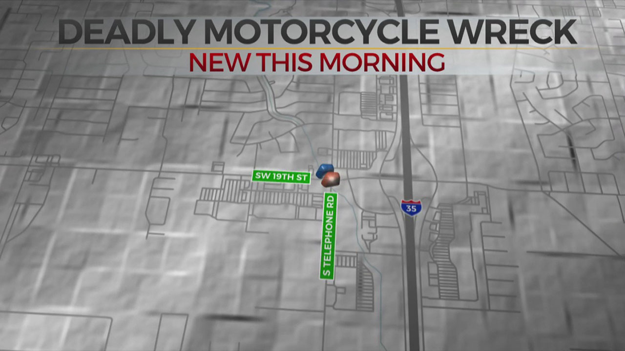 1 Dead, Another Critical After Motorcycle Crash In Moore