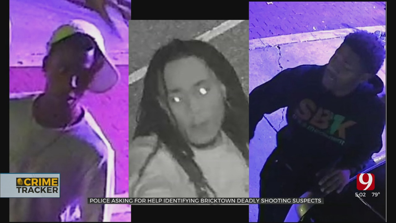 OKC Police Asking For Public's Help Identifying 3 Accused In Deadly Shooting In Bricktown