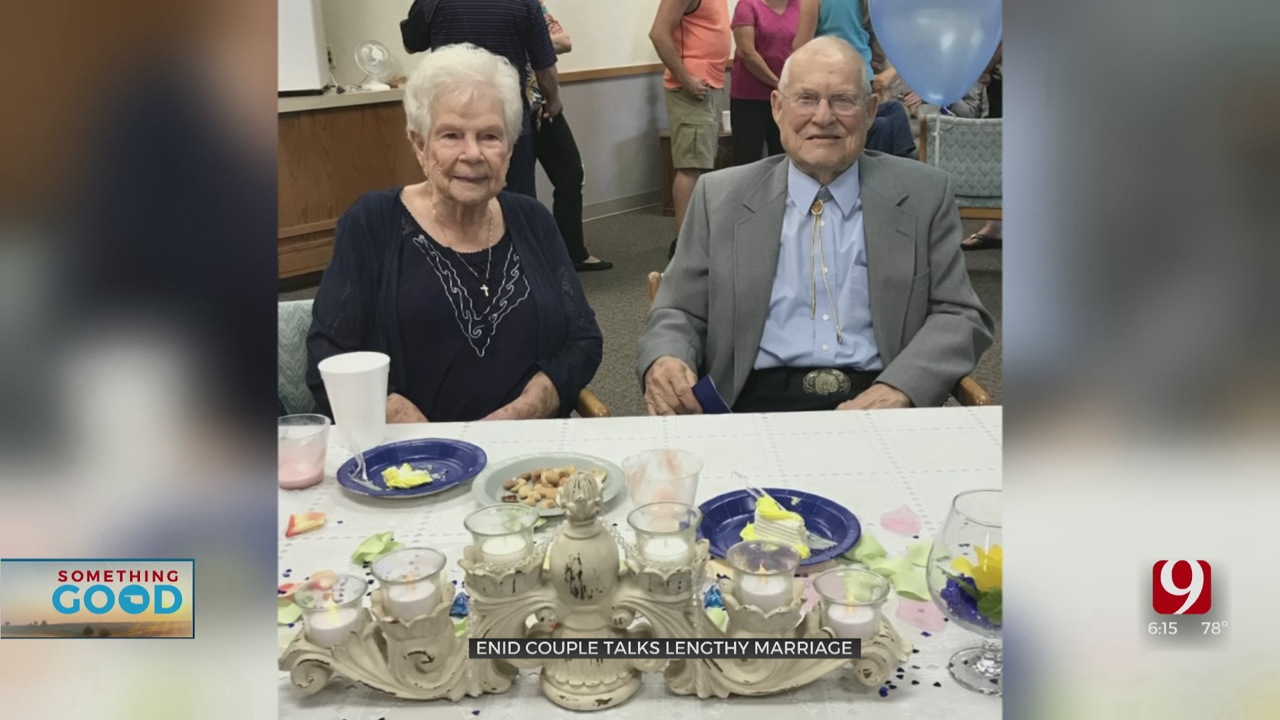 78 And Counting, Enid Couple Celebrates Long-Lasting Marriage