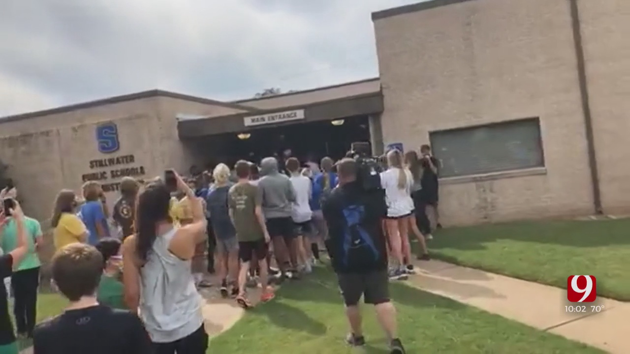Protesters Gather After Stillwater Public Schools Cancels All Athletic, Extracurricular Events
