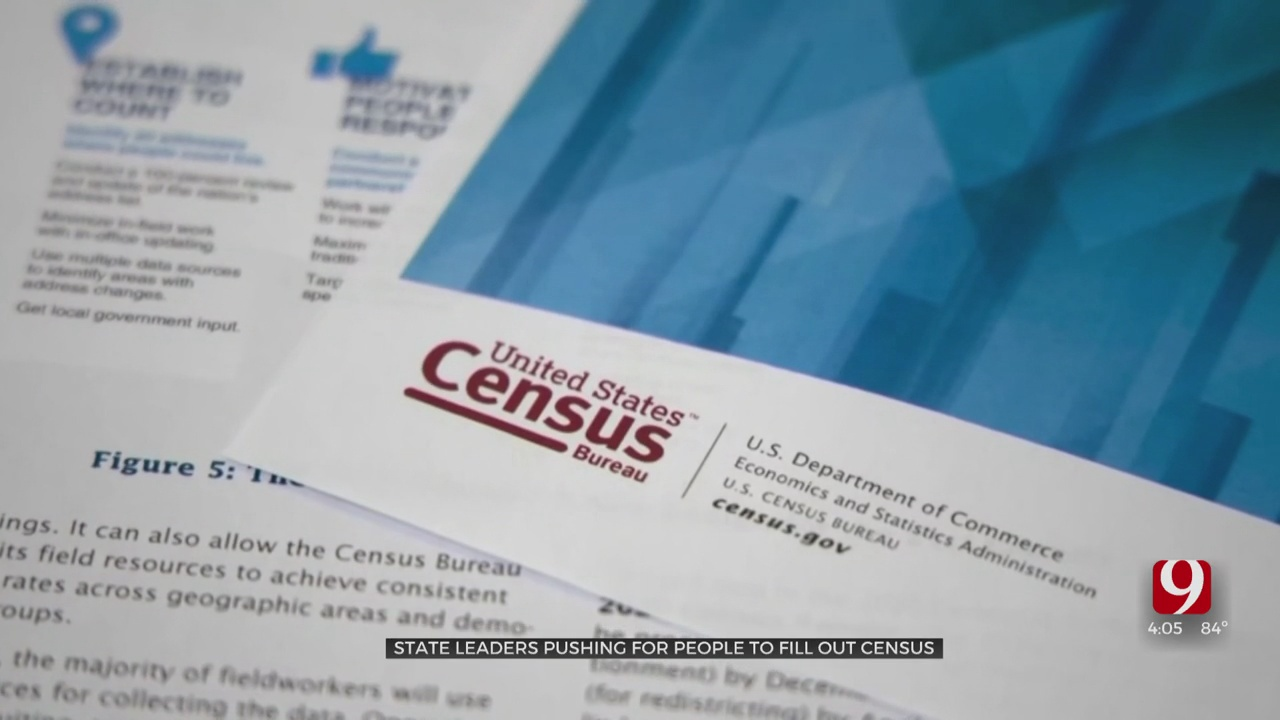 Oklahoma Falling Behind In Census Completion