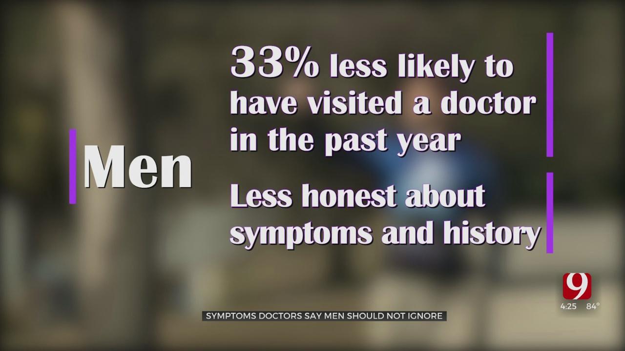 Medical Minute: Symptoms Doctors Say Men Should Not Ignore