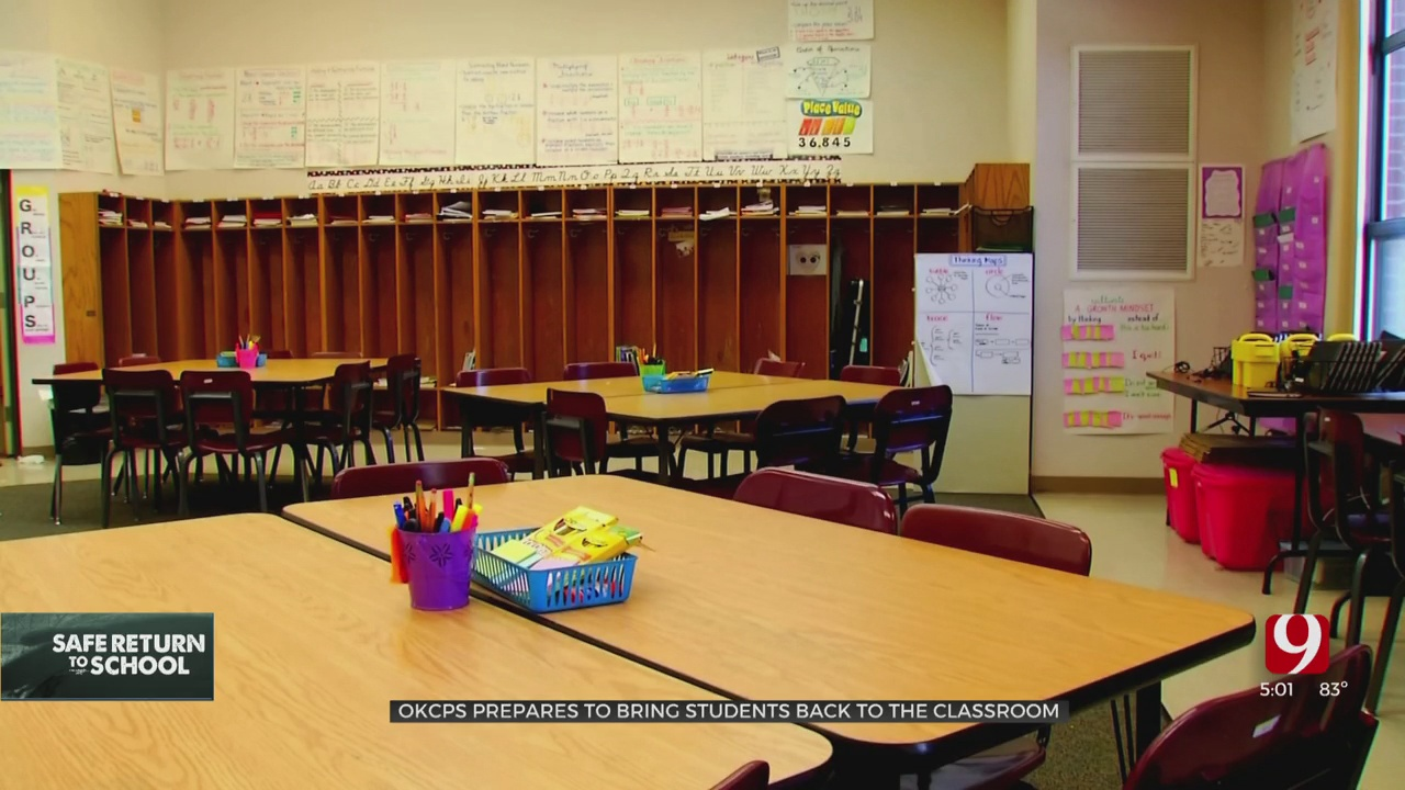 OKCPS Prepares To Bring Students Back To The Classroom