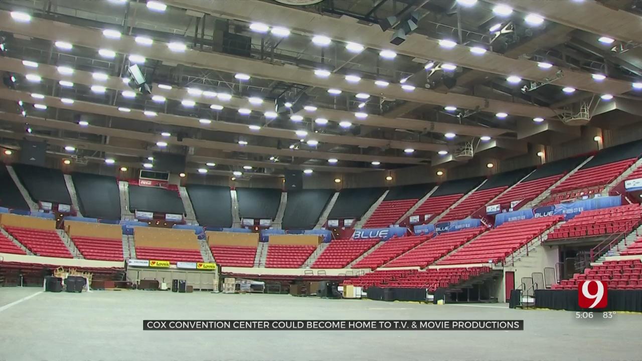 Cox Convention Center To Become Major TV & Film Studio