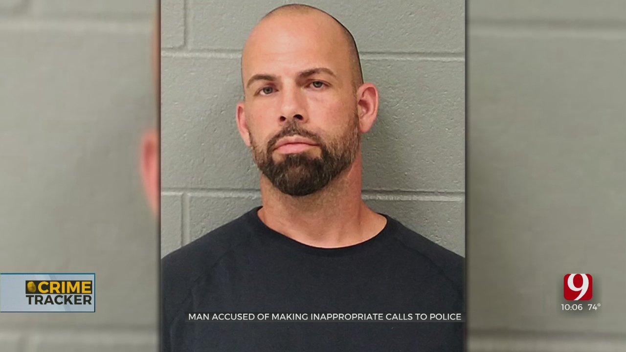Enid Man Arrested, Accused Of Harassing 911 Dispatchers While Sexually Touching Himself