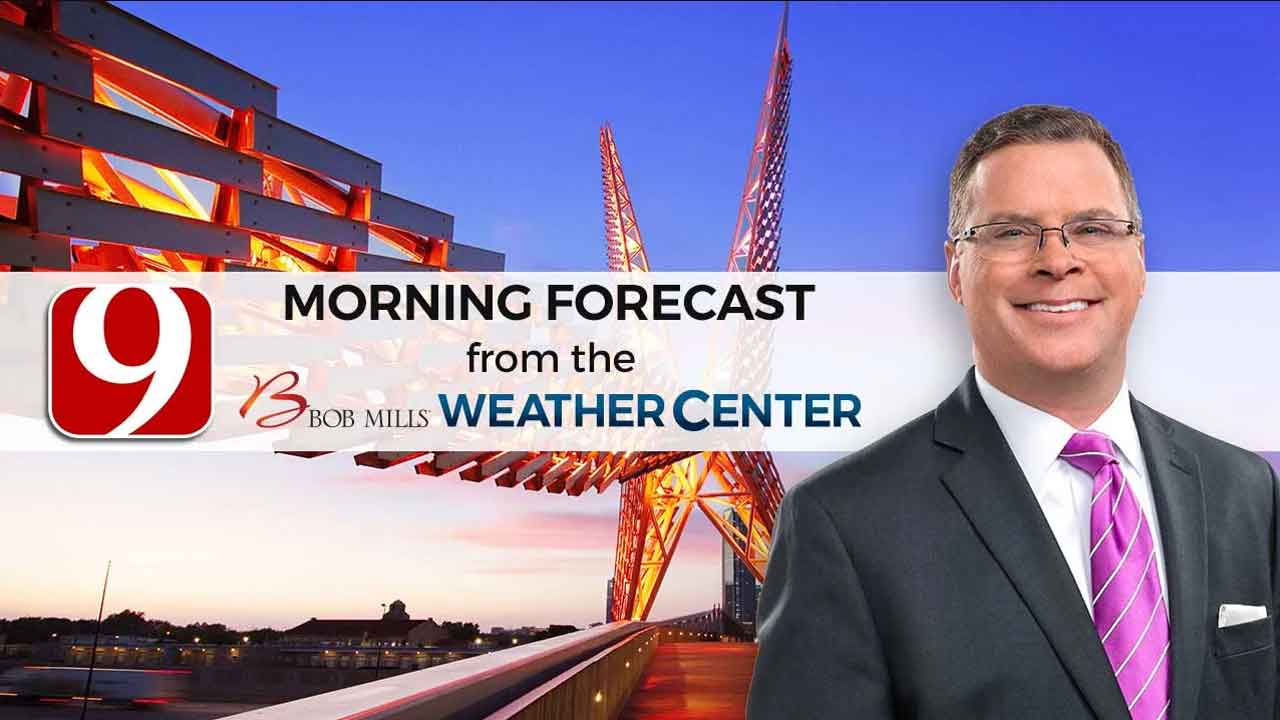 Wednesday Morning Forecast With Jed Castles.