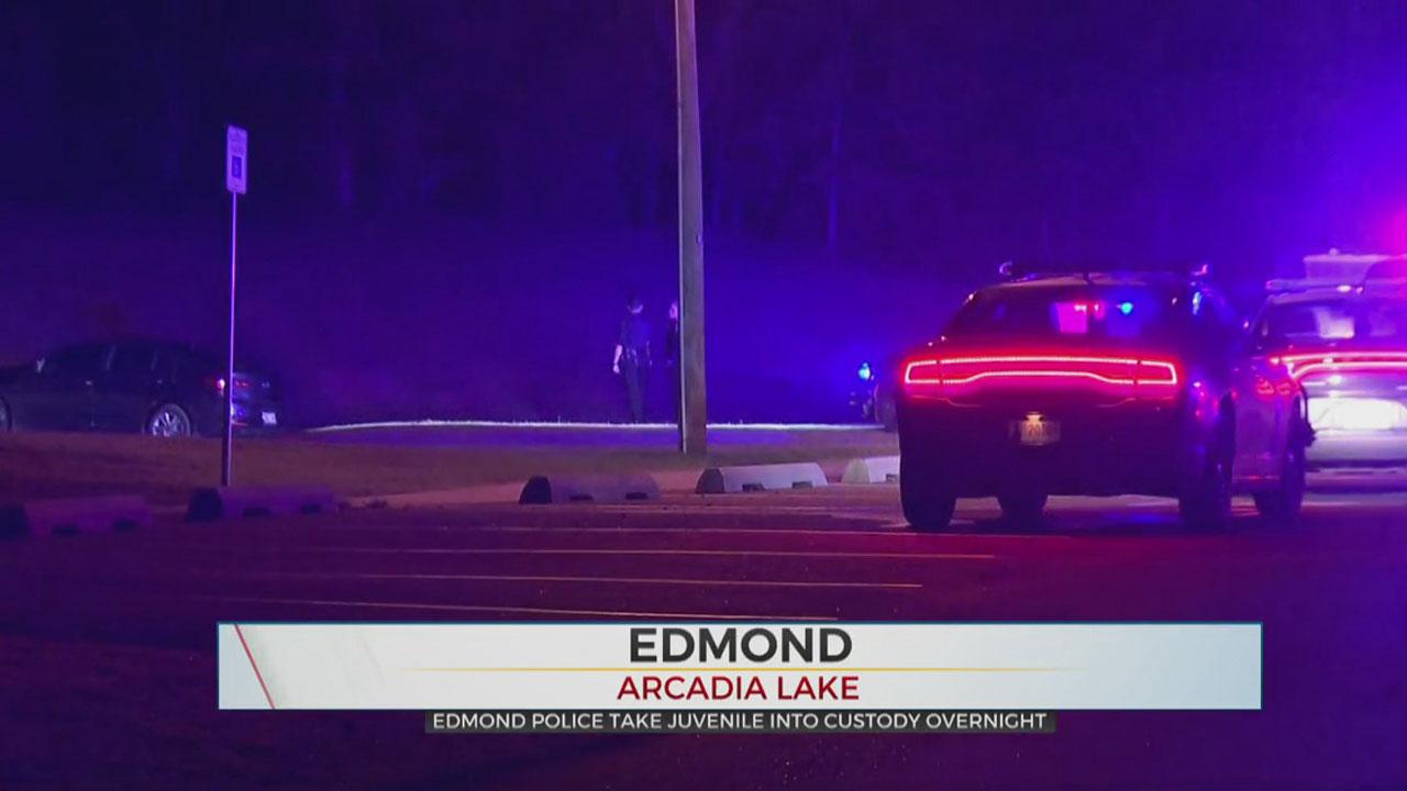 Girl Taken Into Custody After Pursuit, Crash At Arcadia Lake Park