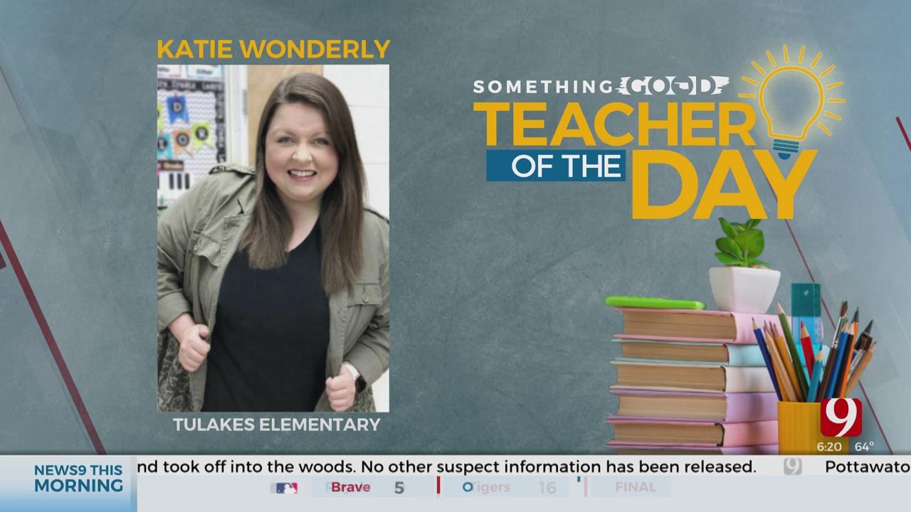 Teacher Of The Day: Katie Wonderly