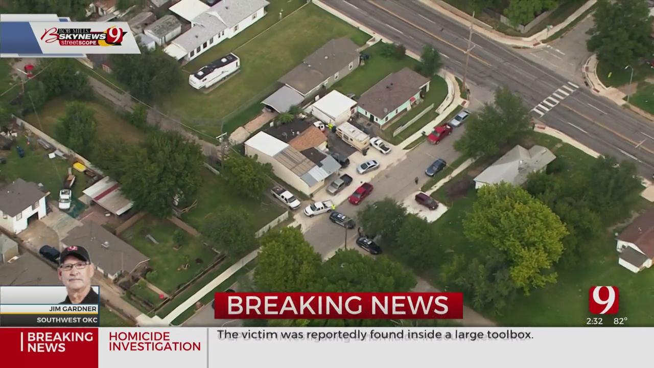 OCPD Confirms Homicide In SW OKC