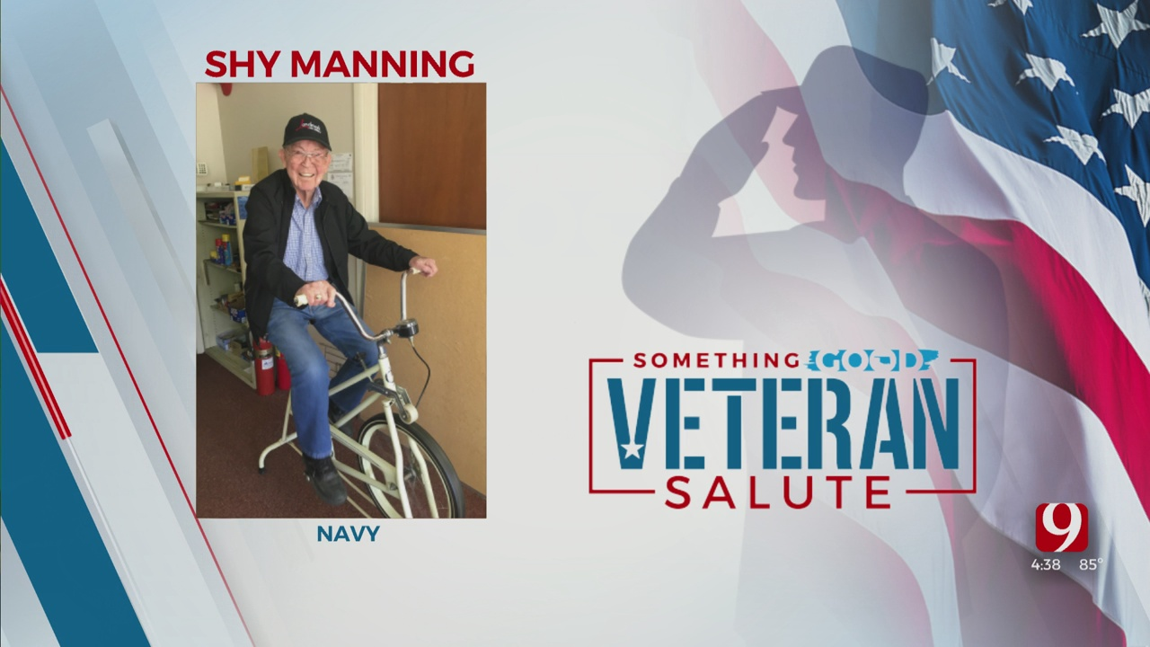 Veteran Salute: Shy Manning