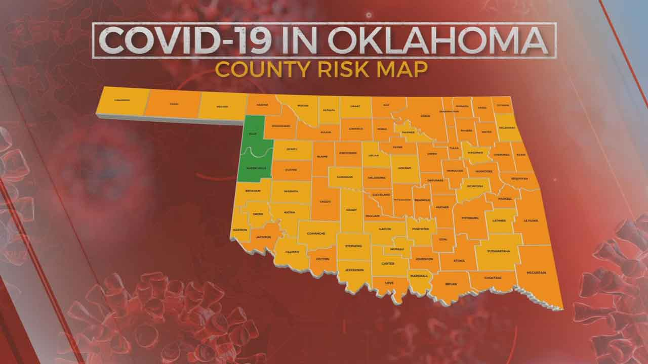 Oklahoma State Medical Association Says State's Color Coded Map Gives a False Sense of Security