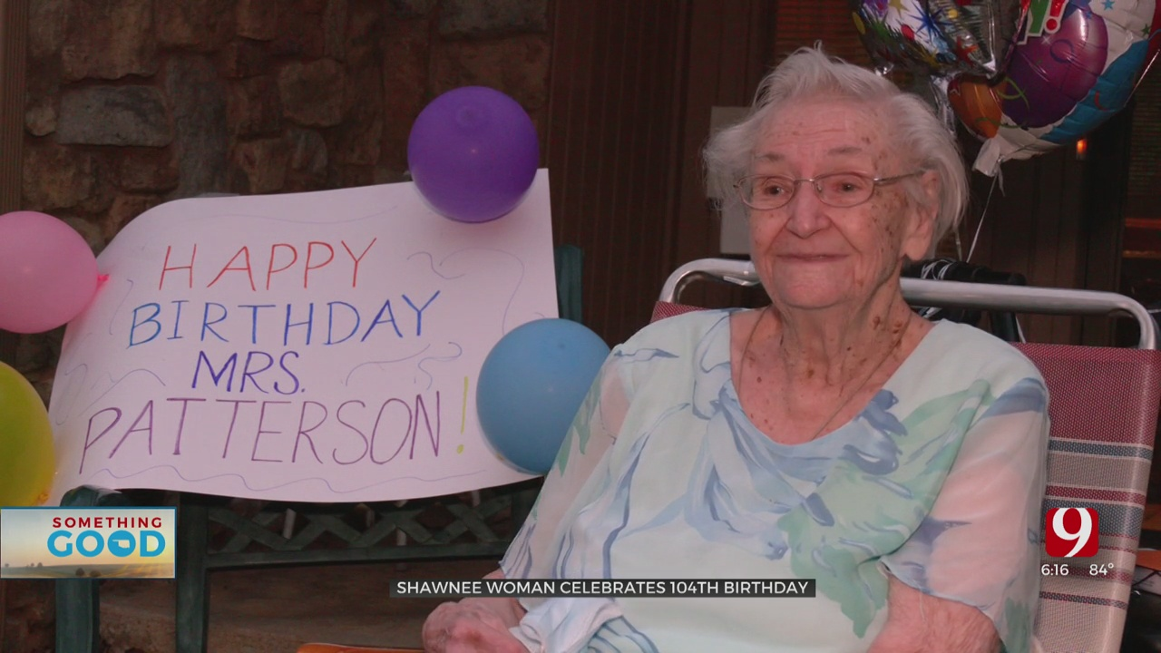 Shawnee Church Gives Birthday To Remember To 104-Year-Old Woman
