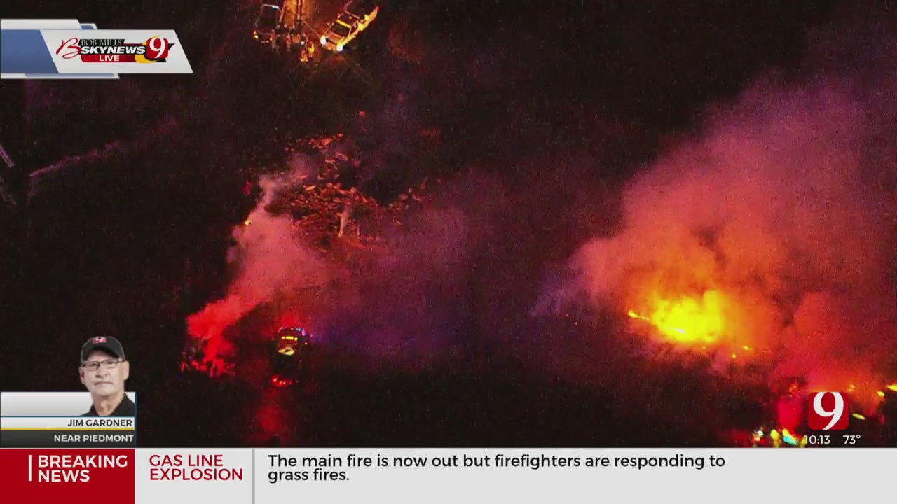 WATCH: Crews Deal With Aftermath Of Piedmont Gas Line Explosion