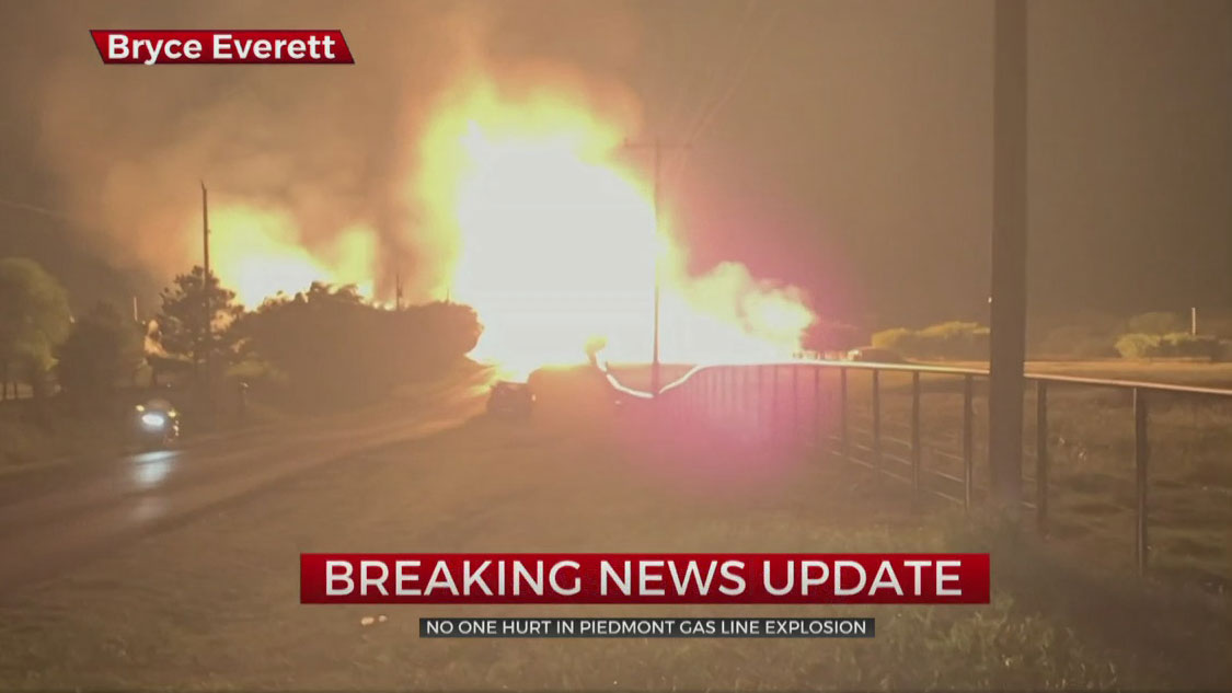 Piedmont Explosion Shuts Down Portion Of Waterloo Road