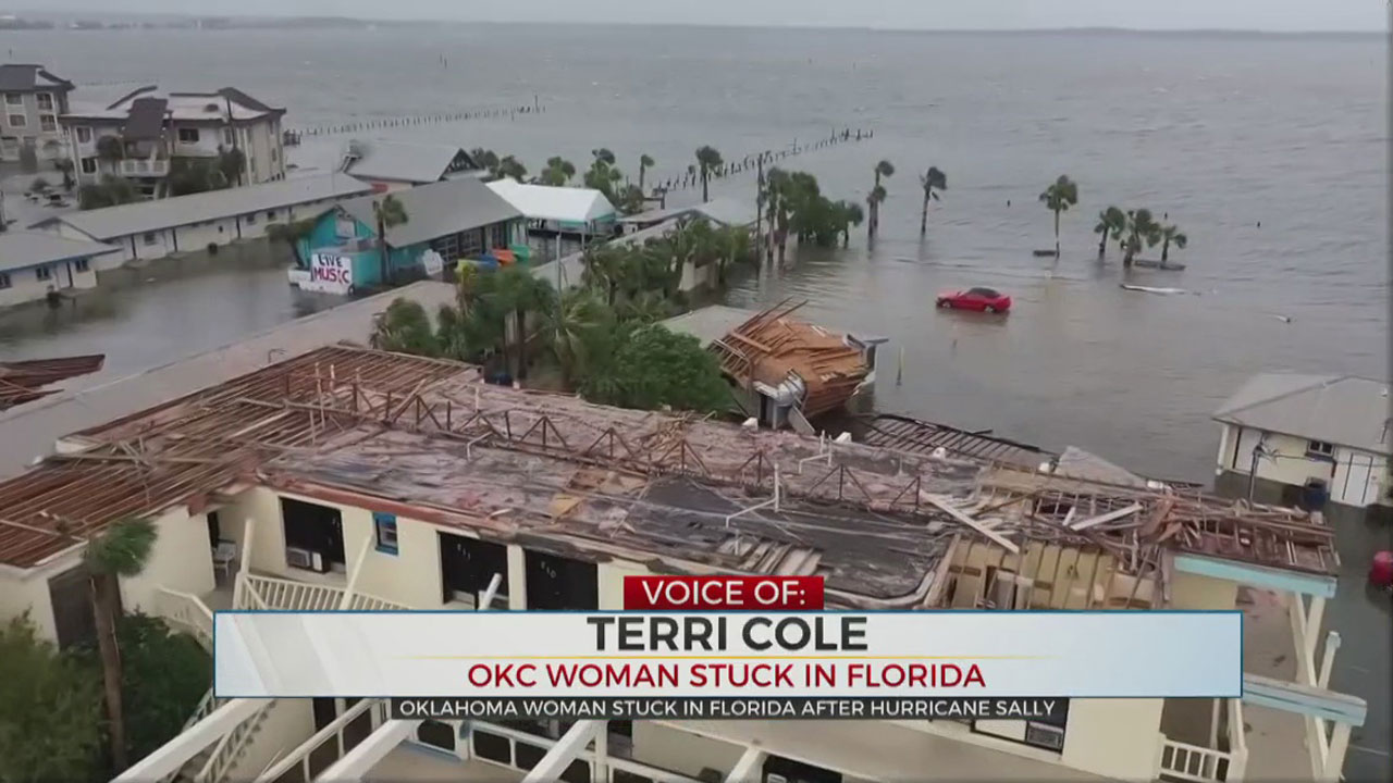 Oklahoma City Woman Stuck In Florida After Hurricane Sally
