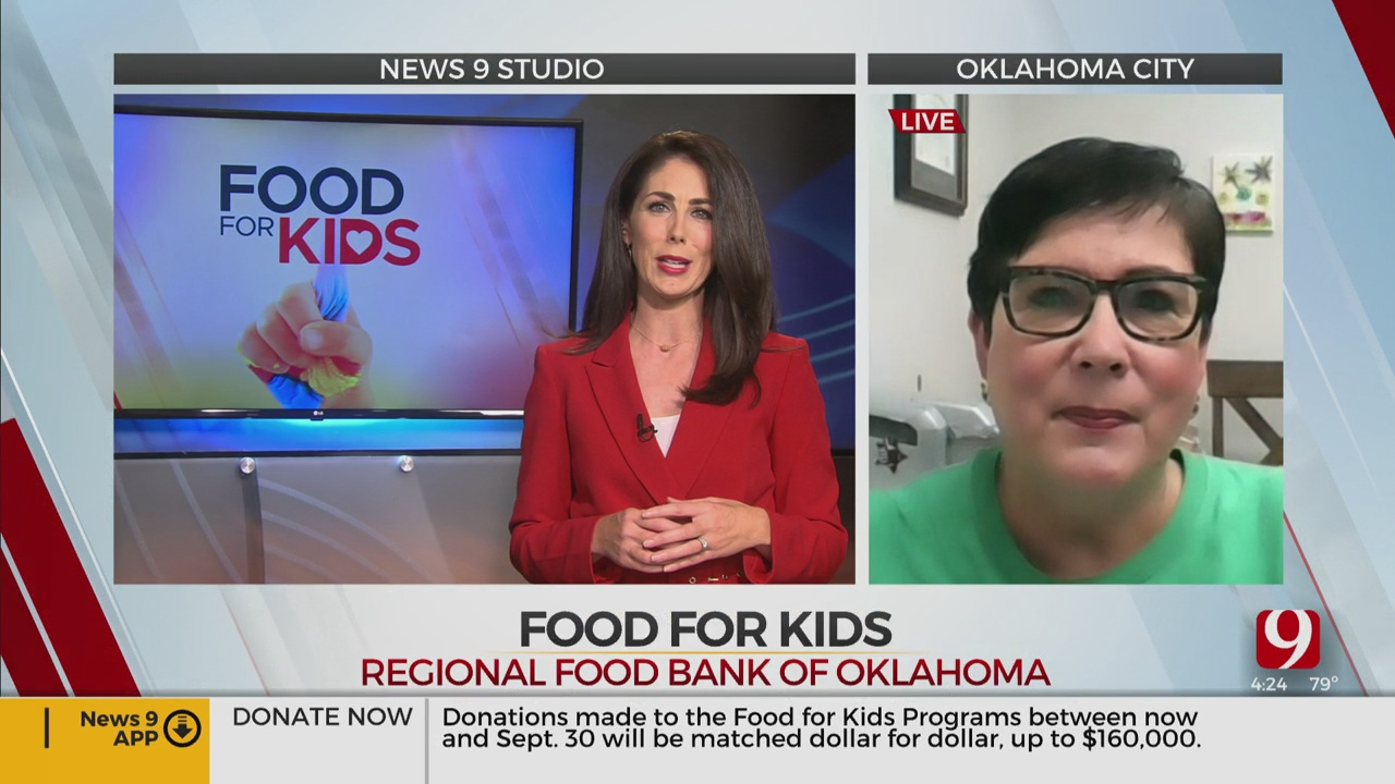 Food For Kids: News 9's Amanda Taylor Speaks With The Regional Food Bank Spokeswoman