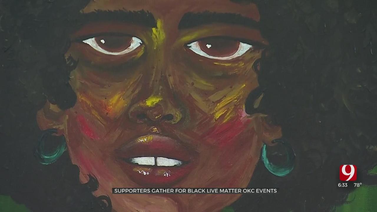 Black Lives Matter OKC Features Black Artists In Plaza District