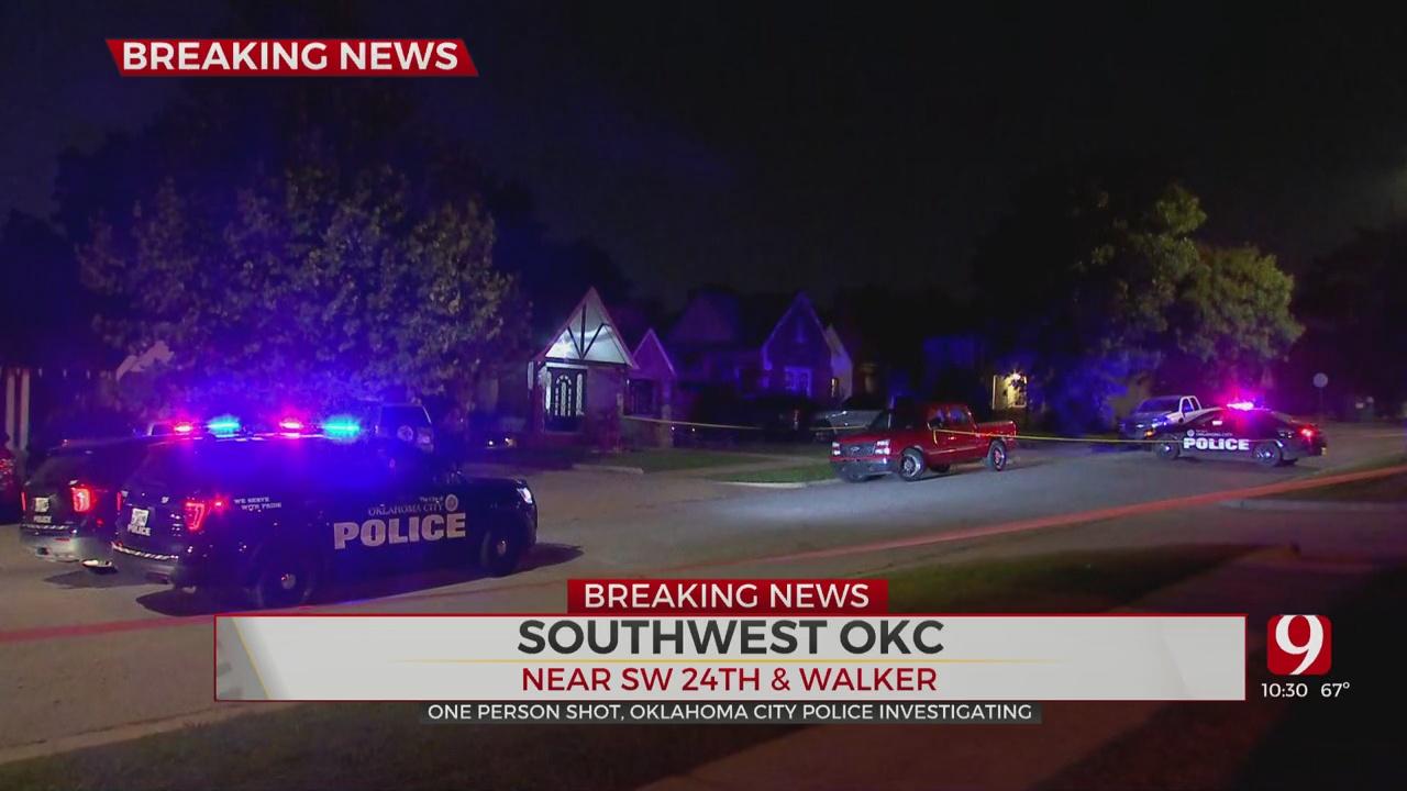1 Man Struck During SW OKC Shooting