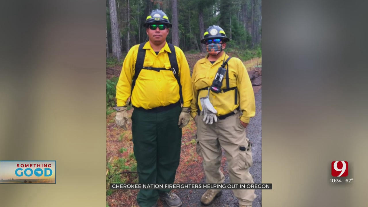 Cherokee Nation Firefighters Lend A Hand In Oregon