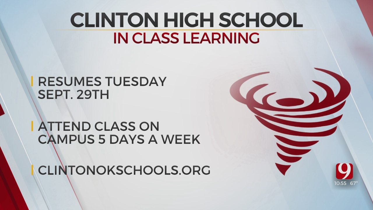 Clinton Public Schools Students To Return To In-Person Instruction