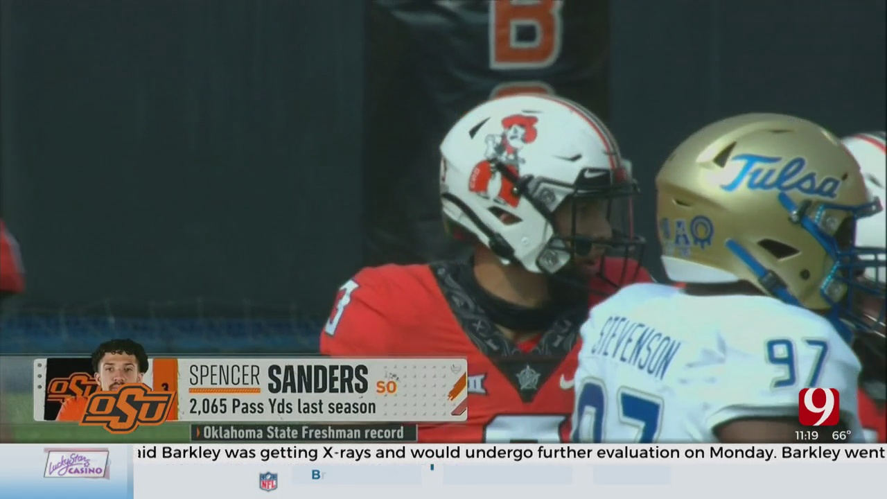 Injury Update For OSU Quarterback Spencer Sanders